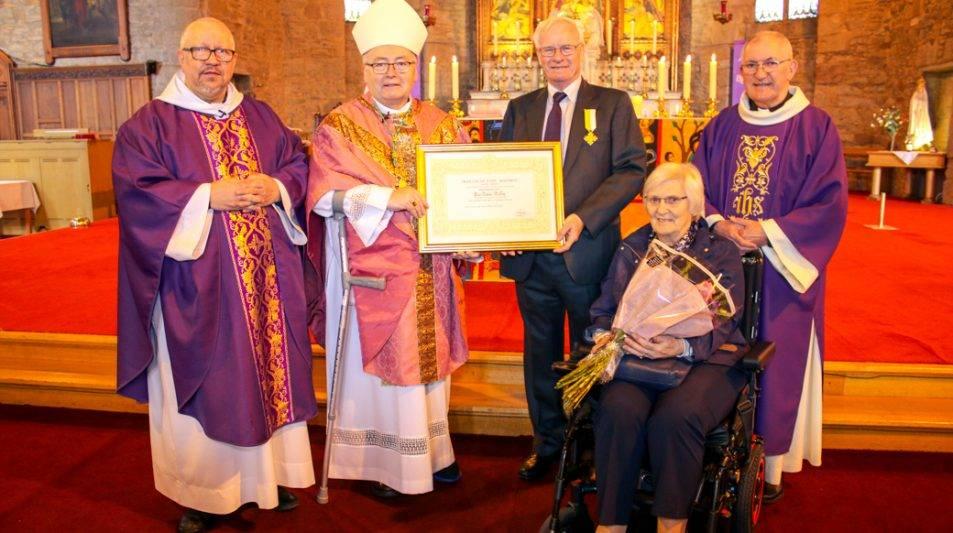 Papal Award for John McKay, Dundee