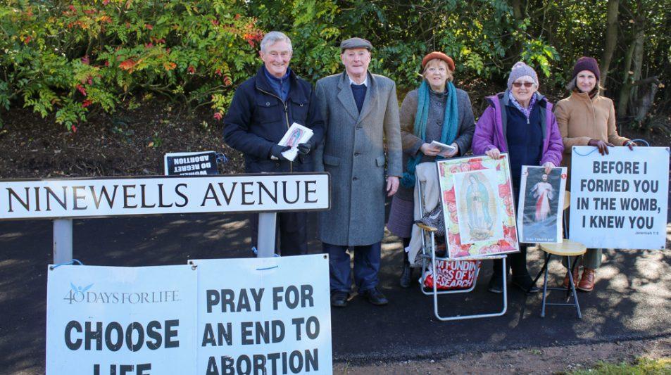 40 days vigil at Ninewells