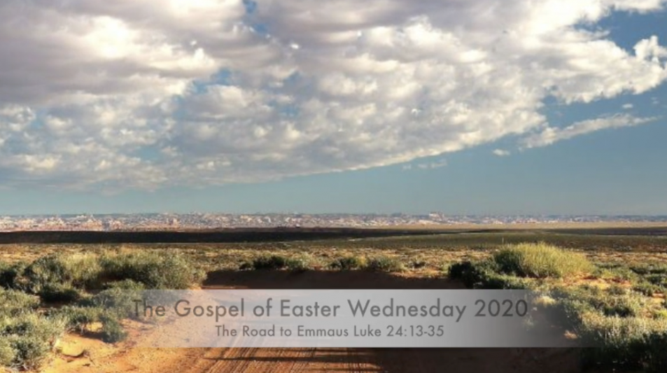 Gospel for Easter Wednesday