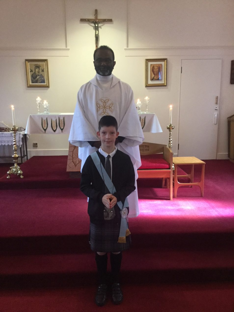 Dillon's First Holy Communion