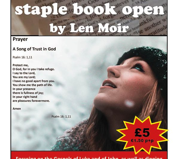 A third book in lockdown for Deacon Len Moir