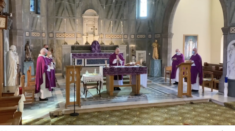 Month's Mind Mass for Bishop Vincent Logan
