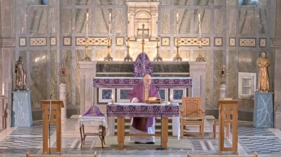 Mass -  Monday in the Second Week of Lent (B) - 1st March 2021