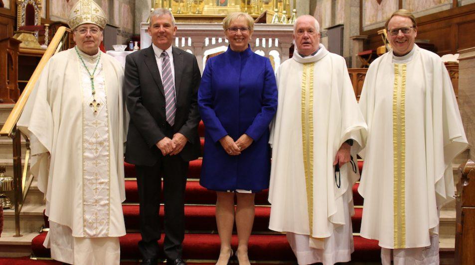 Mass honours long service of retiring Headteacher