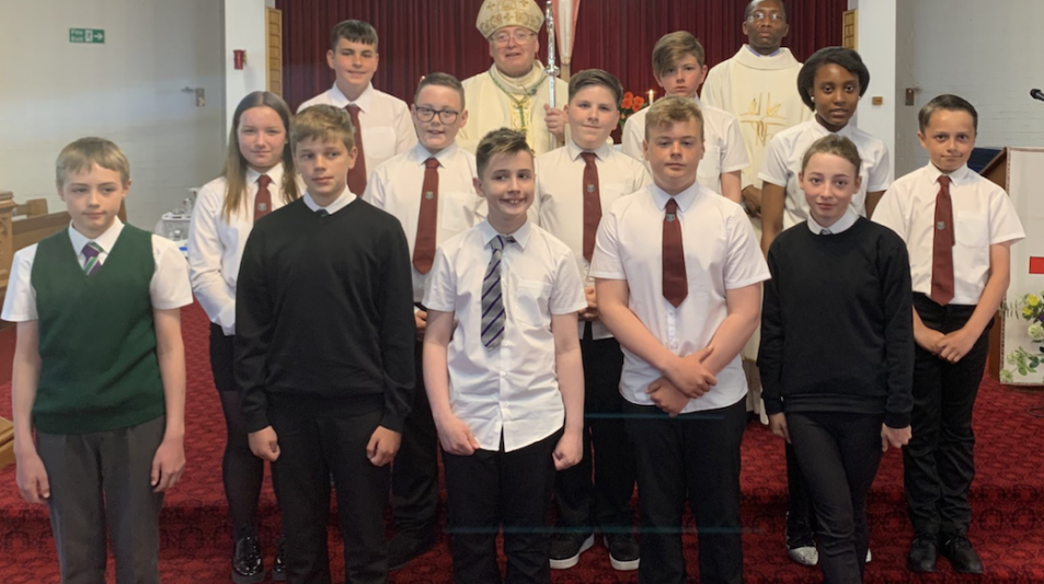 Confirmations at Ss Leonard & Fergus, Dundee