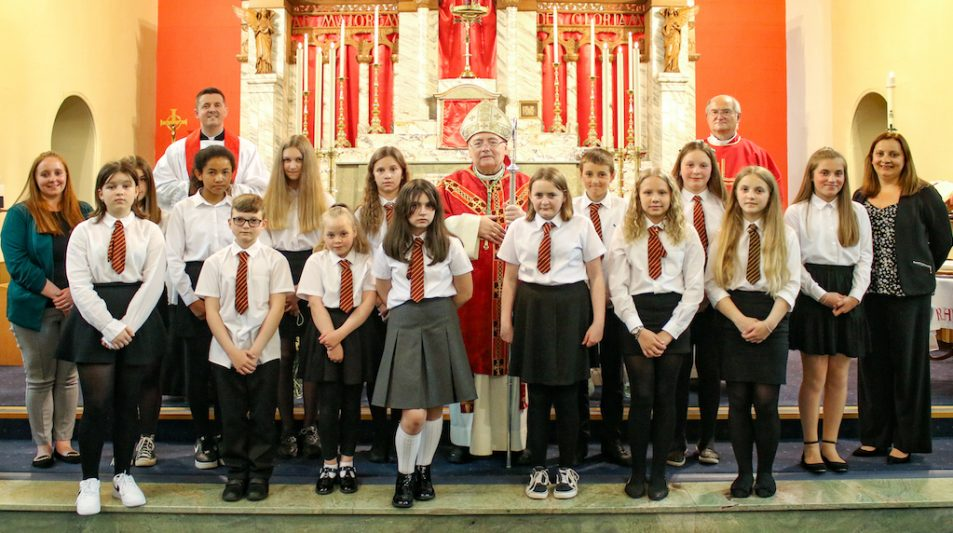 Confirmations at Arbroath