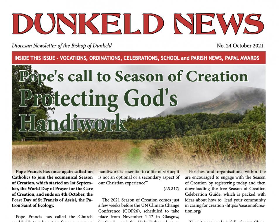 Dunkeld News - October '21